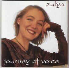 ZULYA KAMALOVA Journey Of Voice CD album 1997 russian/tatar/australia/rajasthan