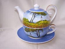 Tea for one aus Brilliantporzellan -  * Leuchtturm *  ORIGINAL Jameson & Tailor