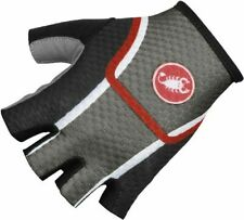 Castelli Velocissimo Men's Cycling Gloves Anthracite XXL :  FREE Shipping