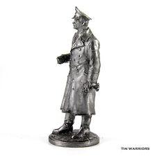 WW2 Soviet spy SS Stirlitz Tin toy soldier 54mm miniature statue metal sculpture