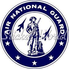 US Air National Guard USAF Emblem Badge - Sticker Decal