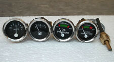 MF Temp, Oil Pr (FeMale), Fuel, Amp Gauge Set TO35, 35, 135, 165, 175, 178