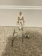 Hasbro E4077AS00 Star Wars The Black Series Rey & D-O Toy 6 inch Action Figure