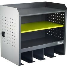 Ryobi Open Shelf Hanging Wall Storage 4 holders for power tools Easy attachment