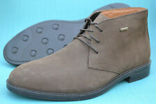 Clarks Mens Chukka Boots CHILVER HI GTX Dark Brown Nubuck UK 7 / 41 RRP £110