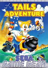 SEGA GAME GEAR Gioco-Tails Adventure RARO! (modulo con Inst).