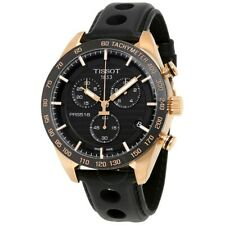 TISSOT T1004173605100 PRS 516 Chronograph Black Dial Swiss Made Men's Watch *NEW