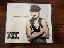 Madonna Justify My Love Compact Disk