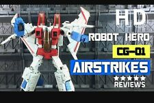 masterpiece transformers starscream ko oversized robot hero cg-01 U.S. SELLER