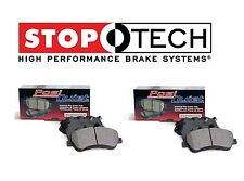 For Ford GT 5.4L V8 05-06 Front & Rear PQ Ceramic Brake Pads Set Pair 105.10010