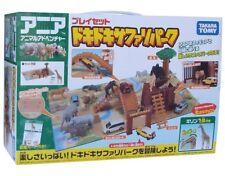 Takara Tomy Wild Safari Park Play Set Animal Adventure Action Figure from Japan