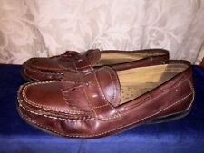CHAPS Ralph Lauren Tassel Kilt Loafers Oxfords Leather Casual Shoes Mens Sz 11