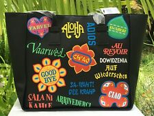 Disney Parks it's a small world Goodbye Languages Tote Bag Purse Danielle Nicole