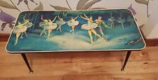 "Vintage kitsch 50's 60""s table ballet swan lake"