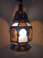 lanterne Lustre plafonnier marocain fer forgé lampe applique orient suspension h