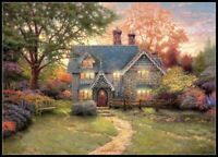 Gingerbread Cottage -Chart Counted Cross Stitch Pattern Needlework Xstitch craft
