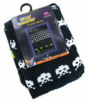 """Space Invaders 60"""" x 45"""" Plush Throw Blanket"""