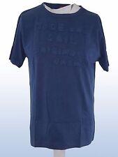 T-shirt uomo blu cotone TIDE AND SAIL tg l large