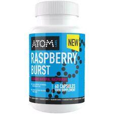 ATOM Raspberry Burst - Diet & Weight Loss Formula - Raspberry Ketones - 60 Caps