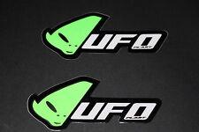 #50 UFO Plastic Plast Alien Motorrad Aufkleber Sticker Decal Bapperl Kleber grün