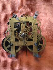 Sessions Mechanical Pendulum Clock Movement Forrestville CT with Original Hands