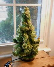 Vintage Visca Cellophane Electric Christmas Tree - Glolite- 1950's