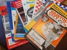 More details for 33 x carlisle united away programmes 1970's
