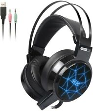 Gaming Headset3.5mm Stereo Wired Noise CancellingvHeadphones for PS4, Xbox, PC