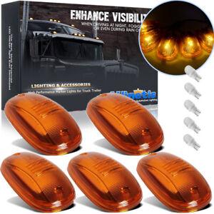 Amber Cab Roof Top Marker Running Light + LED For Dodge Ram 2500 3500 4500 03-19