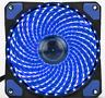 15 Blue LED 120mm 12V 3/4Pin PC Computer Case CPU Heatsink Cooler Cooling Fan
