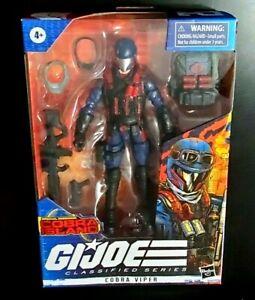 2021 Hasbro G.I. Joe Classified Cobra Island Exclusive Cobra Viper Figure