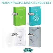 Nu Skin Nuskin Ultimate Mask (4 in1set)=(8Sheets) Korean Facial Mask-FREESHIP