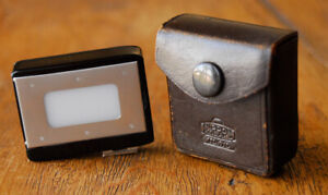 Vintage Nikon F Light Meter Sensitivity Booster for clip on exposure light meter