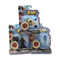 Zak Storm Clovis Caramba Skullivar Action Figure Lot Of 3 BanDai Toy Collect New
