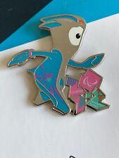 London 2012 Olympic Mascot Mandeville & Paralympic Logo Pin Badge