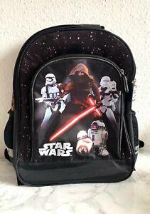 Star Wars Rucksack Tasche Kindergarten Kinder Kids Jungs Kylo Ren