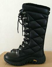 Womens 5.5 UGG Waterproof Leather Tall Kintla Winter Black Boots  (Youth 3.5)
