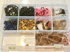 Lot Semi Precious Beads Stones Black Onyx Agate Quartz Mookaite Carnelia Pearls