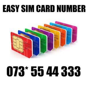 GOLD EASY VIP MEMORABLE MOBILE PHONE NUMBER DIAMOND PLATINUM SIMCARD 5544333