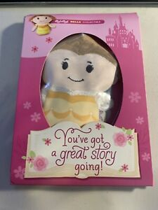 New Hallmark Itty Bitty Disney Princess Belle Birthday Card & Plush Bittys