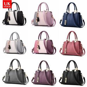 Fashion Women Leather Handbag Briefcase Lady Messenger Shoulder Bag Tote Satchel