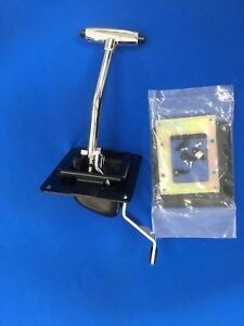 1967 1968 Ford Mustang Automatic Shifter Complete Assembly, Floor Shift only