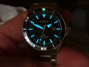 Citizen Excalibur BN0100-51E 40mm Men's Promaster Diver Stainless Steel Watch
