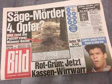 Bildzeitung vom 09.03.1999 * 19. 20. 21. Geburtstag Geschenk * Ballack * Bayern