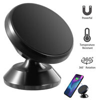 360° Strong Magnetic Car Cell Phone Mount Holder Stand For iPhone Samsung GPS