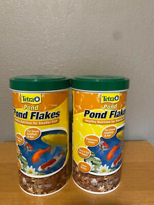 TetraPond 16210 Flaked Fish Food, 6.35-Ounce NEW 2 pack