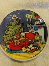 "Jim Davis Garfield ""Season's Eatings"" 1978 Collector Plate"