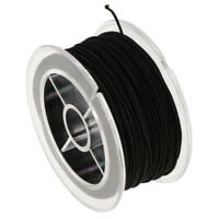 Black Elastic Stretch String Cord Thread for Jewelry Making Bracelet Beading