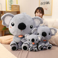 Cute Koala Bear Tree Plush Dolls Stuffed Animal Toys Bed Pillow Xmas Kid Gift