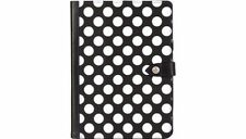 Griffin iPad Air Back Bay Polka Dot Folio Case Cover & Stand Black/White GB37900